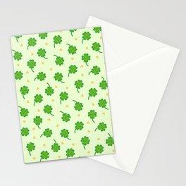 Kawaii Lucky Clover Stationery Cards
