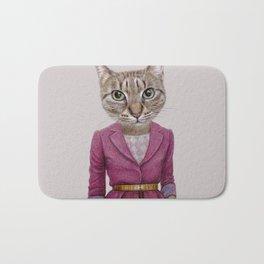 cat Mrs Bath Mat