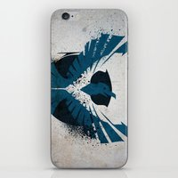 infamous iPhone & iPod Skins featuring inFamous Second Son Good Karma 1 by Kyrsten Carlson