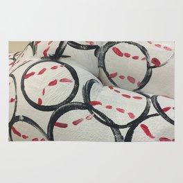 Baseball Season - Body Paint Rug