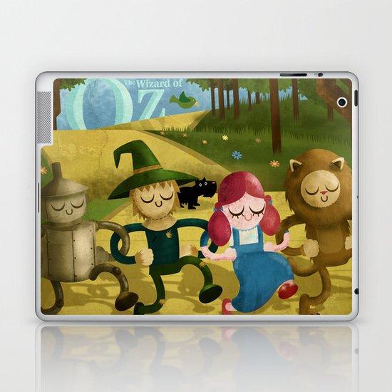 Wizard of Oz fan art Laptop & iPad Skin