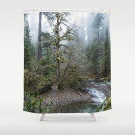 A Creek Runs Through It Shower Curtain