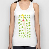 jamaica Tank Tops featuring Jamaica Stuff by GEEFROG
