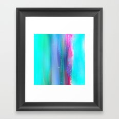 Ice Curtain 5 Framed Art Print