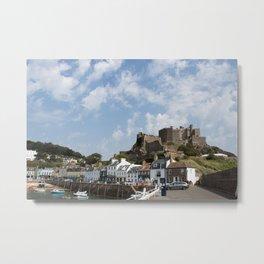 Gorey Castle Jersey Metal Print