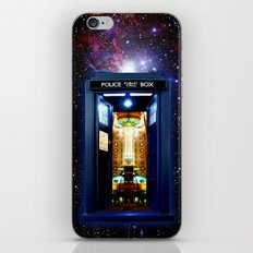 Tardis doctor who bigger on the inside iPhone & iPod Skin