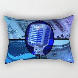 Blues Band Rectangular Pillow