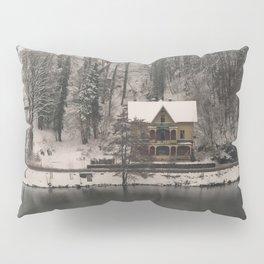 House On Lake Bled Pillow Sham