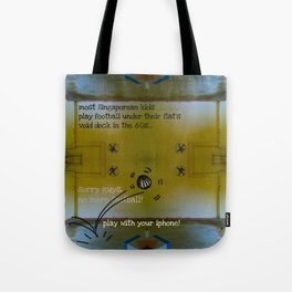 FOOTBALL? Tote Bag