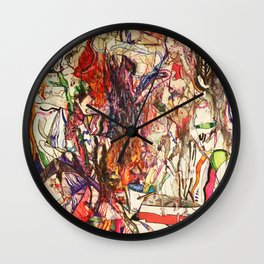 Smoke & Feng Shui Wall Clock
