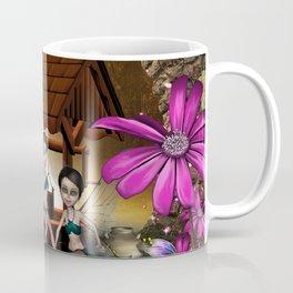 Cute playing fairy Coffee Mug