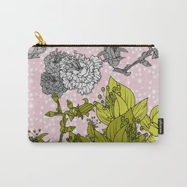 Torn roses in spring Carry-All Pouch