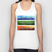 divergent Tank Tops featuring Divergent by All Things M