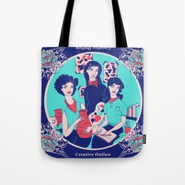 Women Artists (Creative Outlaws) Tote Bag