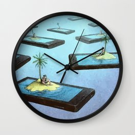 Society connected Wall Clock
