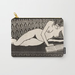 Nude Reading by Samuel Jessurun de Mesquita Carry-All Pouch