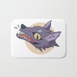 Happy Wolf Bath Mat