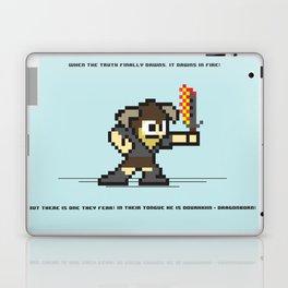 8 bit Dovahkiin Laptop & iPad Skin