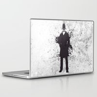 watchmen Laptop & iPad Skins featuring WATCHMEN - RORSCHACH by Zorio