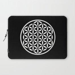 Flower of Life Yin Yang Laptop Sleeve