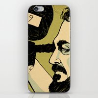 stanley kubrick iPhone & iPod Skins featuring kubrick by Le Butthead