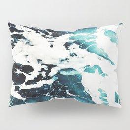 Dark Ocean Waves Pillow Sham