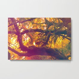 Infinite Connection Metal Print