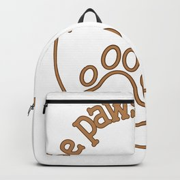 Be Pawsitive Backpack