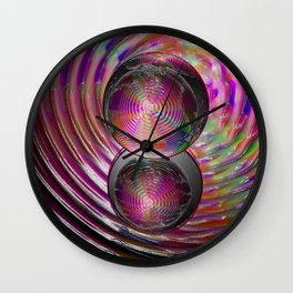Fresnal Wall Clock