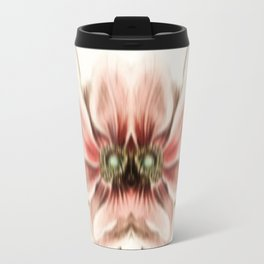 Botanical Flower Glitch IV Travel Mug