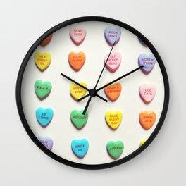 Love Books Wall Clock