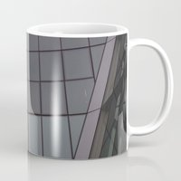 bow Mugs featuring Bow by RMK Creative
