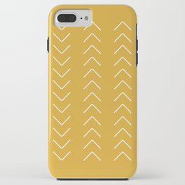 V / Yellow iPhone Case