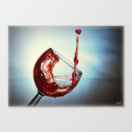 Good for the heart Canvas Print