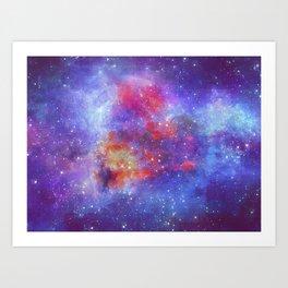 Heart of Universe Art Print
