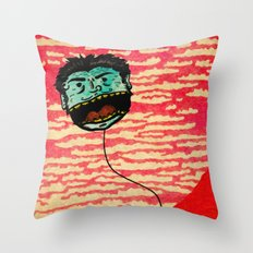 Let me go, leave me alone Throw Pillow