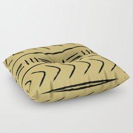 Mudcloth pillow version light Floor Pillow