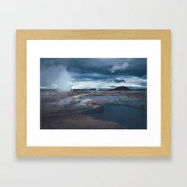 Hverir II Framed Art Print