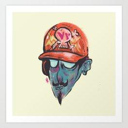 Hollow Henry - Phantom Borough Sluggers Art Print