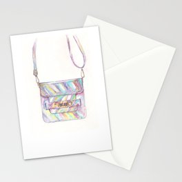 holographic bag Stationery Cards