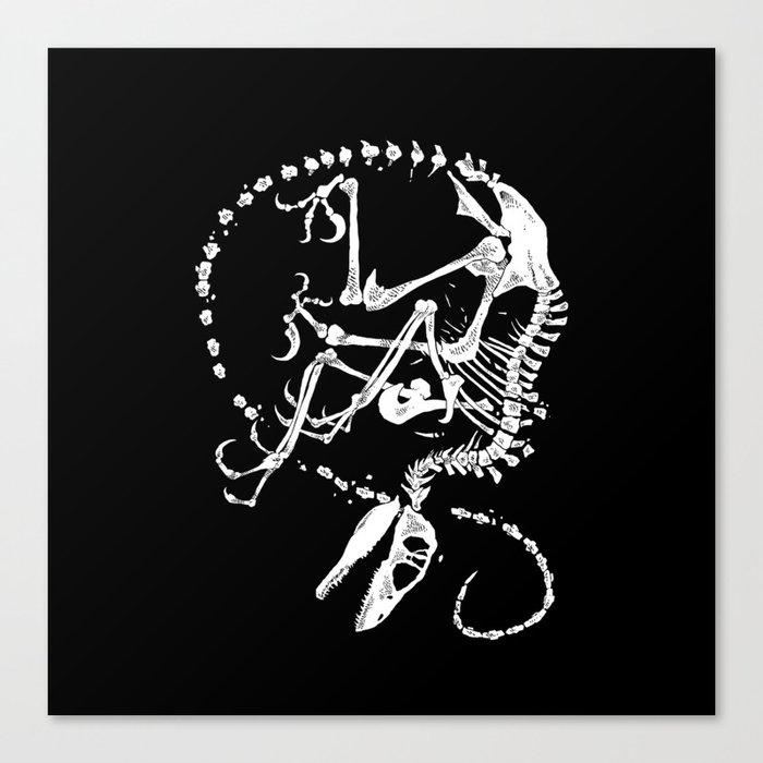 Deinonychus Canvas Print