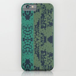 Shadows of Colours in Stripe By Danae Anastasiou iPhone Case