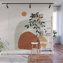 Soft Shapes I Wall Mural