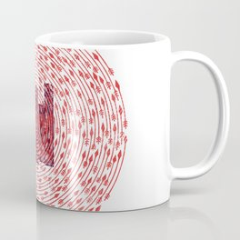 Death At Your Doorstep Coffee Mug
