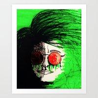 Penny Blinds Art Print