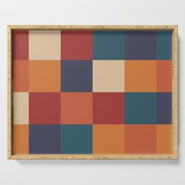 Color Grid - Bold & Vibrant Serving Tray