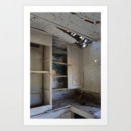 Empty cupboards Art Print