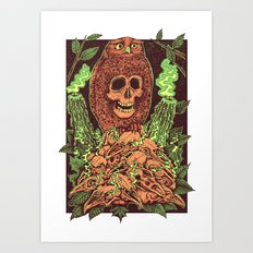 Among The Fray Art Print
