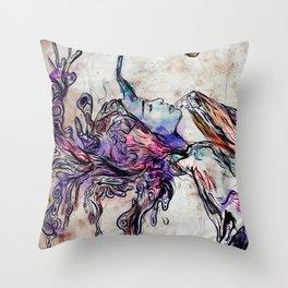Unleaving Throw Pillow