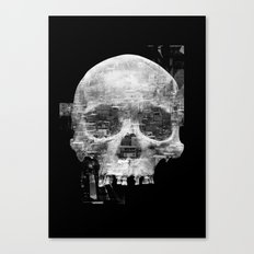 Favela'Skull Canvas Print